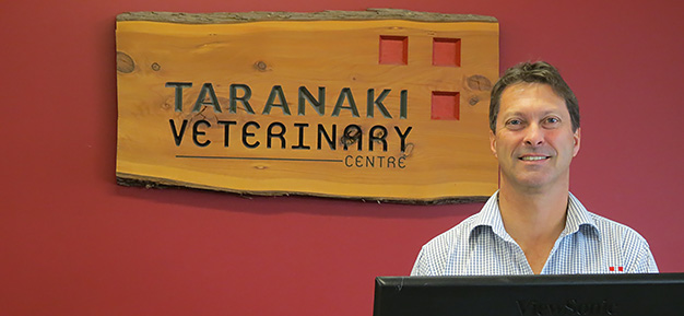 Stephen Hopkinson and the team at Taranaki Veterinary Centre like PrimoWireless.